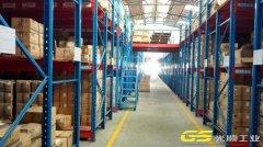 加工厂阁楼平台货架定制案例—东莞货架厂家