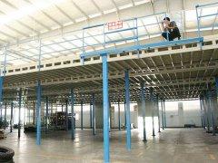 电子厂仓库钢结构货架定做案例—东莞货架厂家