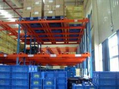 汽配公司流利式货架定做案例—广州货架厂家